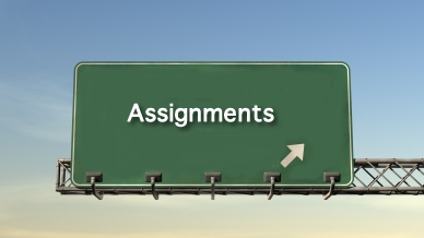 Assignments completed for you