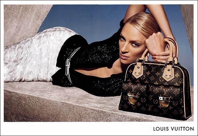 Uma Thurman for Louis Vuitton